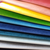 Tela tecida matéria têxtil de veludo do sofá da cortina de indicador de Upholstery do poliéster