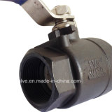 2PC Carbon Steel Full Port Floating Ball Valve