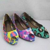 جديدة نمو سيدات أحذية زاويّة مسطّحة ([تم-و130])