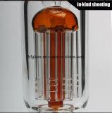 Rokende Pijp 8 van het glas Booreiland van het Glas van de Waterpijp van het Glas van Perc van de Honingraat van de Wapens van de Boom het Rode
