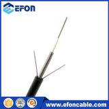 6 acier uni-mode extérieur de câble optique de fibre du faisceau G652D blindé