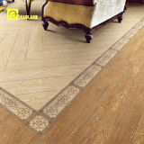 Kerala Wood Ceramic Floor Tile Designs 600X150 (MLP0818)