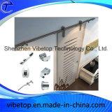 Configuración estándar de madera de acero inoxidable Barn Door Hardware