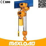 Аттестация Ce ISO легковес гарантированности 1 года таль с цепью 0.5 тонн электрическая