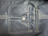 Nuevo haber diseñado, chaqueta de cuero del motorista de la manera de las señoras
