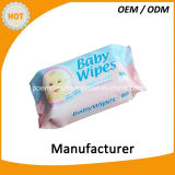 De Chinese OEM Natte Baby van de Vervaardiging veegt af