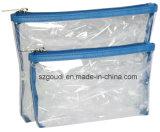 Assortimenti cosmetici del sacco del PVC della lavata impermeabile libera dell'articolo da toeletta