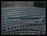 Grating não galvanizado do piso de aço do deslizamento do MERGULHO quente