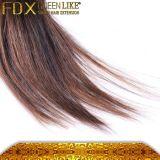 Волос Black&Brown Ombre поставки свободно образца волосы быстро китайские людские прямые