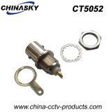 Stecker weiblichen Schutzwand W/Nut u. Unterlegscheibe CCTV-BNC (CT5052)