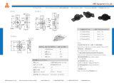 Amorteador rotativo de pequena engrenagem Abertura ou fechamento da placa de cobertura pequena