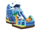 Inflatable gigante Water Pool Slides per Adult