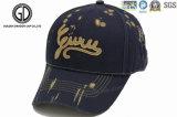 Крышка спорта бейсбола OEM типа способа с изготовленный на заказ вышивкой и печатание