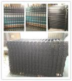 Rete fissa rivestita del giardino della rete fissa del metallo saldato della rete fissa del ferro della polvere