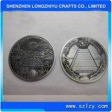Значок металла имитации 3D классицистической персоны изготовленный на заказ античный