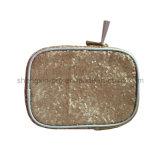 Bolso cosmético Shinning de la materia textil para las señoras