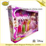 Casella impaccante viola con la finestra del PVC per il giocattolo (JHXY-PB0043)