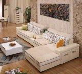 2016 moderne Wohnzimmer-Abbildungen der hölzernen Sofa-Entwürfe