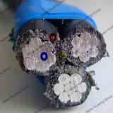 Zusammengerolltes Luftkabel, ABC-Kabel, obenliegendes Kabel, ASTM, BS, Nfc, Iec, LÄRM Standard