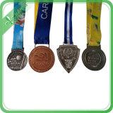 Neues Form-Geschenk-Feld sublimiertes Medaillen-Farbband für Militärgroßverkauf