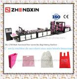 O saco não tecido o mais atrasado da caixa de China que faz a máquina Zxl-C700