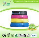 중국 제조자 레이저 프린터 토너 Tk 560 Kyocera 인쇄 기계를 위해 양립한 Tk 562 Tk 564 색깔 토너 카트리지