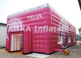 Tente de publicité gonflable de géant de chapiteau de cube