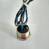 Acier inoxydable 316L 24V Anneau bleu LED verrouillage Commutateur piézo électrique 19mm IP68 étanche