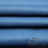 Agua y de la ropa de deportes tela tejida chaqueta al aire libre Viento-Resistente 100% del filamento del poliester del telar jacquar abajo (53170)