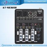 Mixer met de Beroeps die van de Interface USB de Reeks van de Console mengen kt-703USB