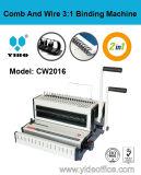 2-in-1 Manual Binding Machine для Comb и Wire (CW2016)