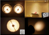 Projector do diodo emissor de luz com o projeto do refletor e o TUV aprovados