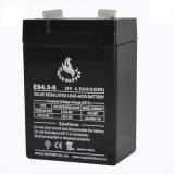 6V 4.5ah verzegelde de Zure Batterij van het Lood voor UPS met ISO9001