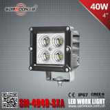 4 Inch 40W (4PCS*10W) Square CREE LED Car Work Driving Light mit CER RoHS ECE (SM-4040-SXA)