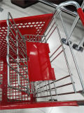 Standardplastiksupermarkt-Einkaufen-Laufkatze