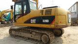 A esteira rolante hidráulica usada da lagarta 320d Máquina-Shanghai-Localizou 2012/1000hrs o Backhoe 0.5~1.0cbm/20ton Japão-Exportada