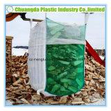 Сплетенный PP мешок большого части FIBC сетки Jumbo с плоским дном