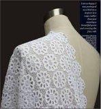 Tessuto di nylon competitivo del merletto del cotone