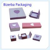 方法熱い販売法のボール紙の宝石類のリングボックス