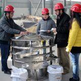 Cribador vibrante rotatorio del acero inoxidable de Xinxiang
