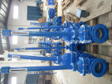 Non-Rising Stem Metal Seated Gate Valve con Extend Spindle ANSI125/150