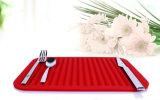 Циновка обеда валика крупноразмерной квадратной формы силикона изделий кухни теплостойкfNs
