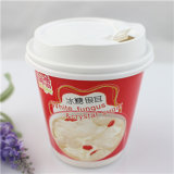 Biodegradierbare Winkel- des Leistungshebelswegwerfbare Papierkaffeetasse