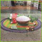 Etiqueta impermeable decorativa casera del suelo del vinilo de la historieta