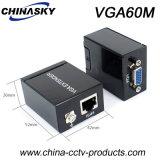 VGA dem Konverter zu des Signal-RJ45 der Ergänzung-Cat-5e/6 des Kabel-60m (VGA60M)