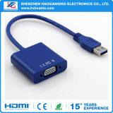 Hete Verkoop voor USB3.0 aan VGA Kabel, USB 3.0 aan VGA Kabel