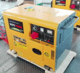 7.5kVA 세륨 ISO Air Cooled Portable Silent Diesel Power Genset/Generator