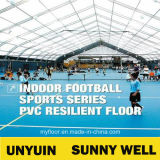 Indoor Badminton CourtのためのMaunsell熱いSell PVC Sports Flooring