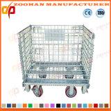 Hohe Kapazitäts-Metalldraht-Ineinander greifen-Speicher-Rahmen-Behälter (ZHra69)