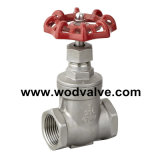 CF8m Gate Valve mit Handle Wheel